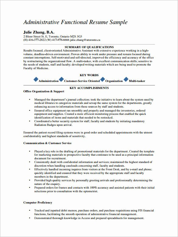 Resume Template Medical assistant New 5 Medical assistant Resume Templates Doc Pdf