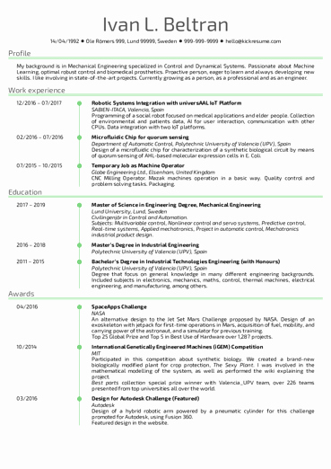 Resume Template software Engineer Best Of software Engineering Resume Samples From Real
