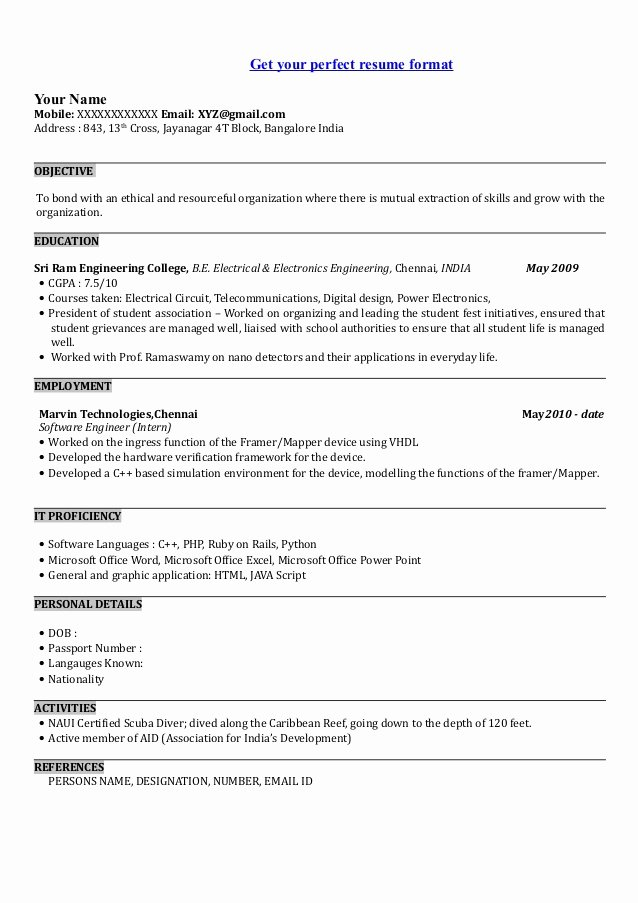 Resume Template software Engineer Luxury Sample Resume software Engineer