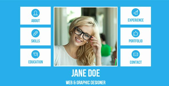 Resume Website Template Free Unique 20 High Quality Muse Website Templates