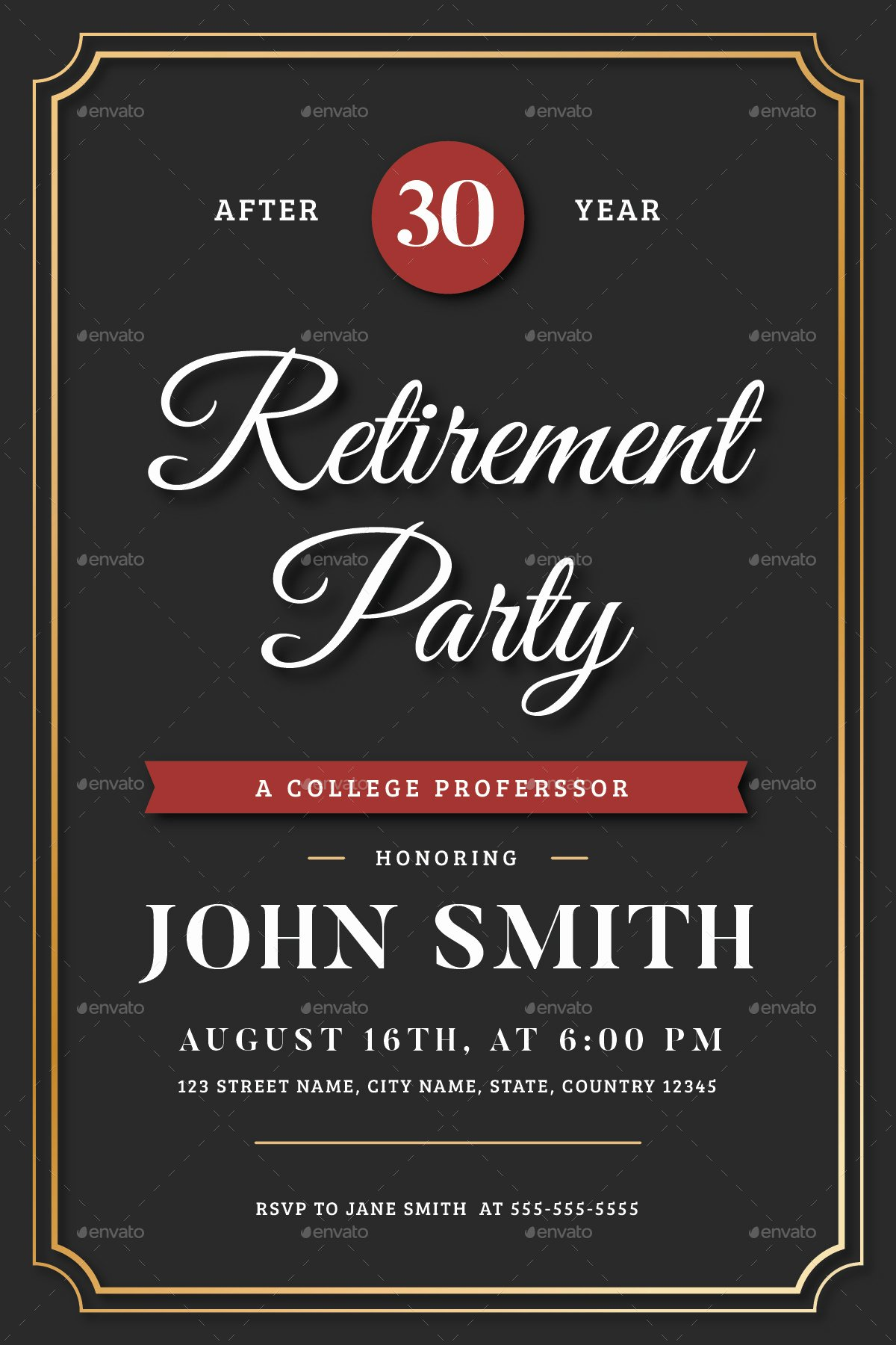 Retirement Flyer Free Template Best Of Retirement Invitation Flyer Templates by Vynetta