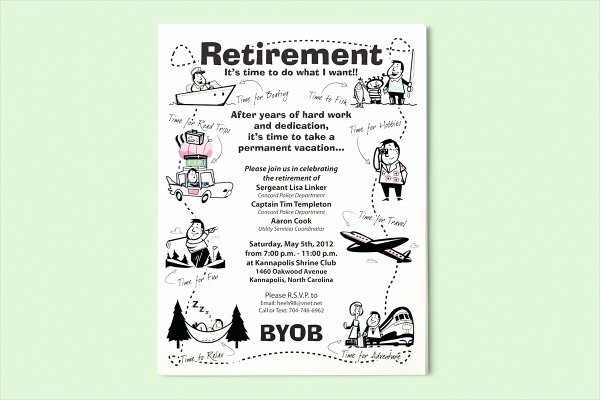 Retirement Flyer Free Template Fresh 15 Retirement Flyers Psd Vector Eps Jpg Download