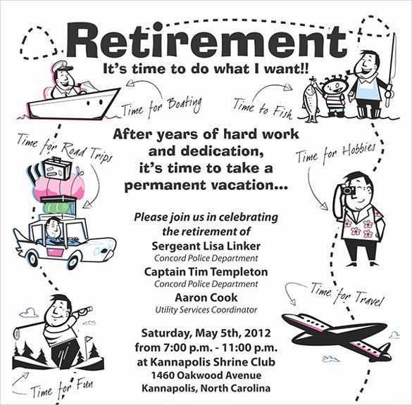 Retirement Flyer Free Template Inspirational 11 Retirement Party Flyer Templates to Download