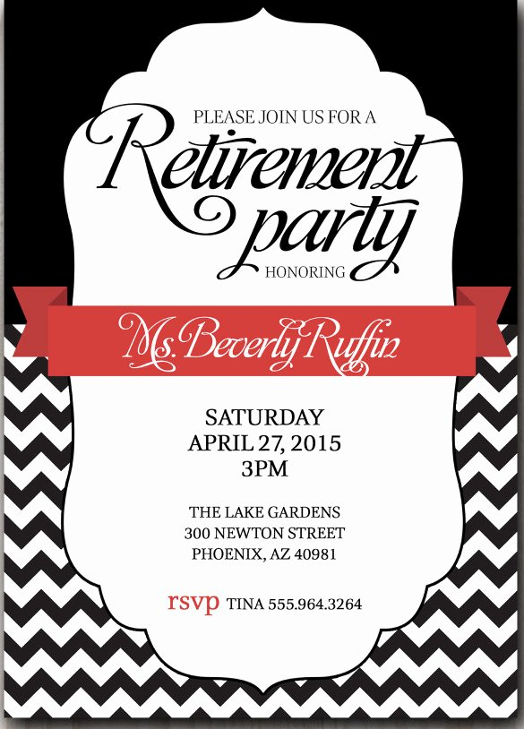 Retirement Flyer Free Template Lovely 25 Retirement Invitation Templates Psd Vector Eps Ai