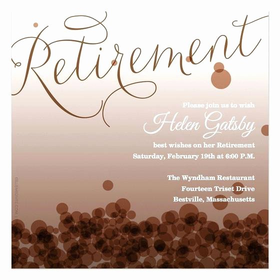 Retirement Flyer Template Free Awesome Retirement Party Flyer Template Word – Mklaw