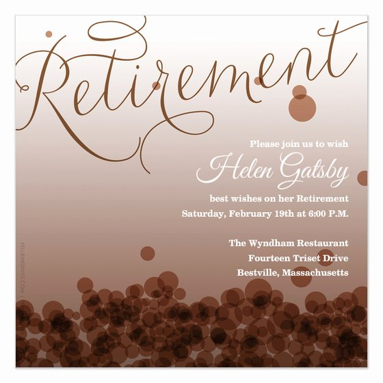 Retirement Flyer Template Free Inspirational 7 Best Of Free Printable Retirement Templates
