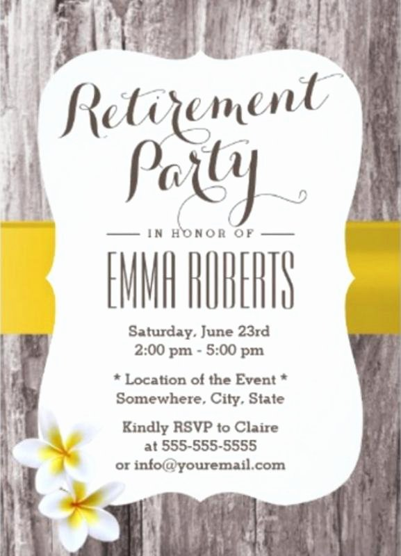 Retirement Flyer Template Free Lovely Retirement Flyer Template