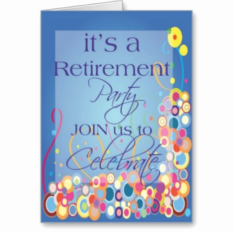 Retirement Flyer Template Free Unique Free Retirement Invitation – orderecigsjuicefo