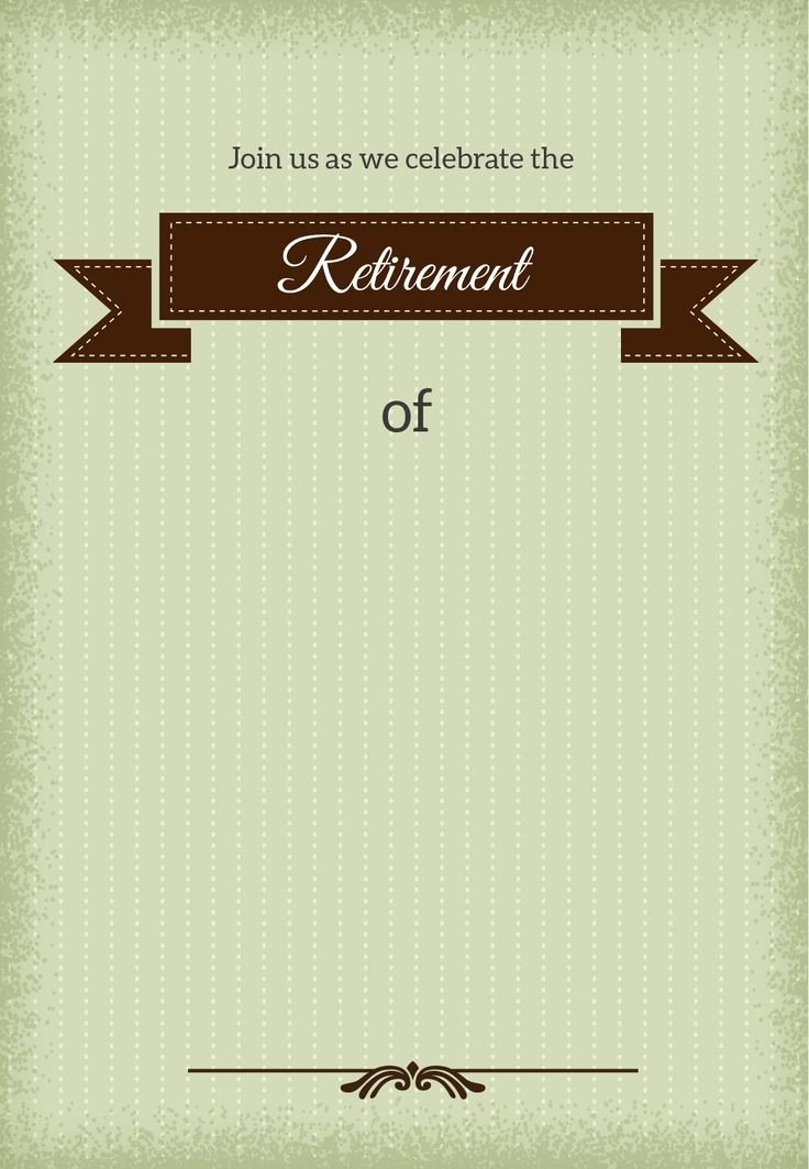 Retirement Invitation Template Free Awesome 25 Unique Retirement Invitations Ideas On Pinterest