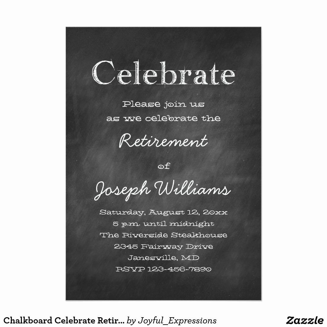 Retirement Invitation Template Free Best Of Retirement Party Invitation Template