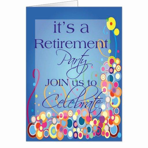 Retirement Invitation Template Free Luxury Retirement Celebration Invitation Templates