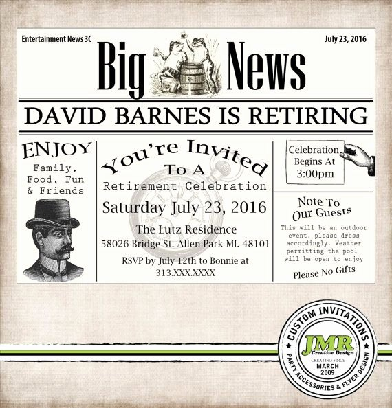 Retirement Invitations Template Free Best Of 1000 Ideas About Retirement Invitations On Pinterest