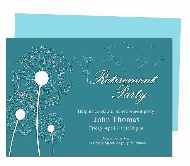 Retirement Invitations Template Free New Winds Retirement Party Invitation Templates Diy Printable