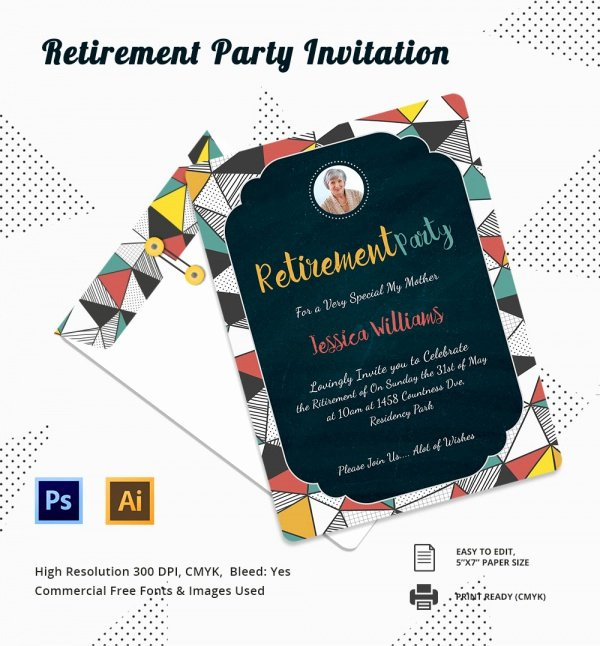 Retirement Party Flyer Template Best Of 12 Retirement Party Invitations
