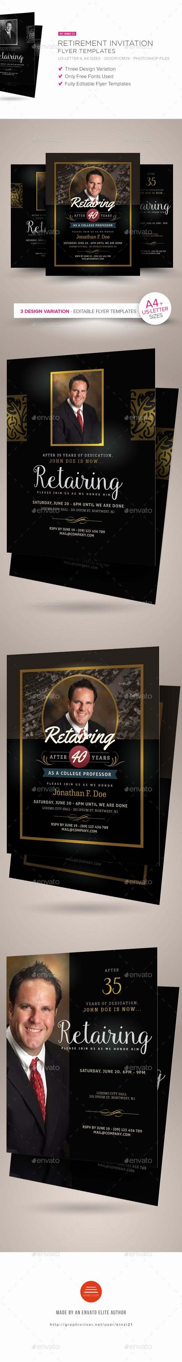 Retirement Party Flyer Template Luxury Best 25 Retirement Invitations Ideas On Pinterest