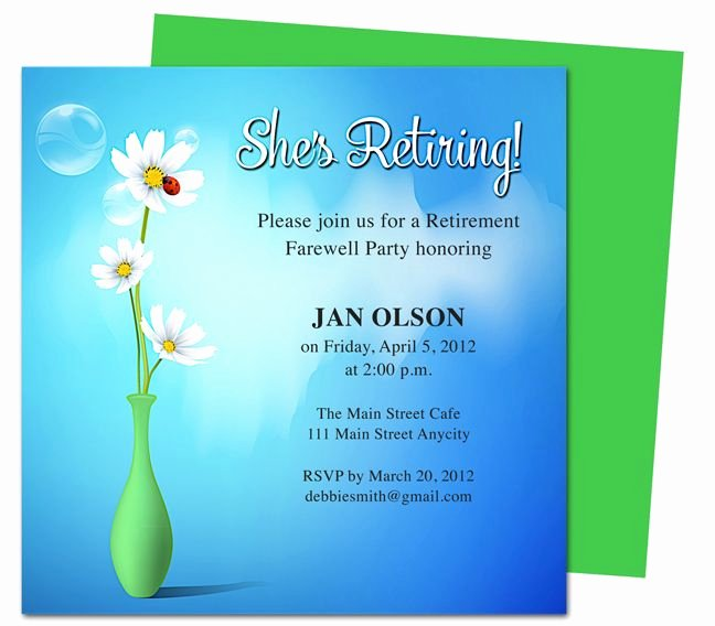 Retirement Party Invitations Template Beautiful 1000 Images About Printable Retirement Party Invitations