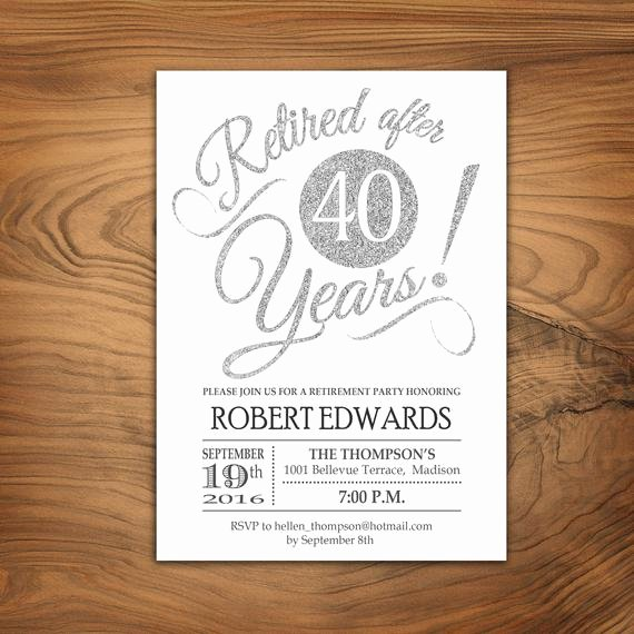 Retirement Party Invitations Template Unique Retirement Party Invitation Retirement Invite Printable