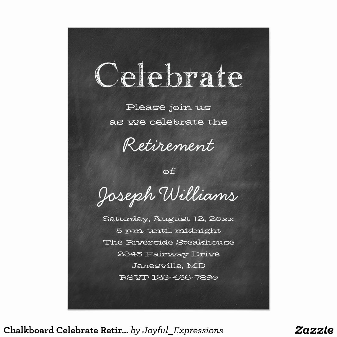 Retirement Party Invitations Template Unique Retirement Party Invitation Template