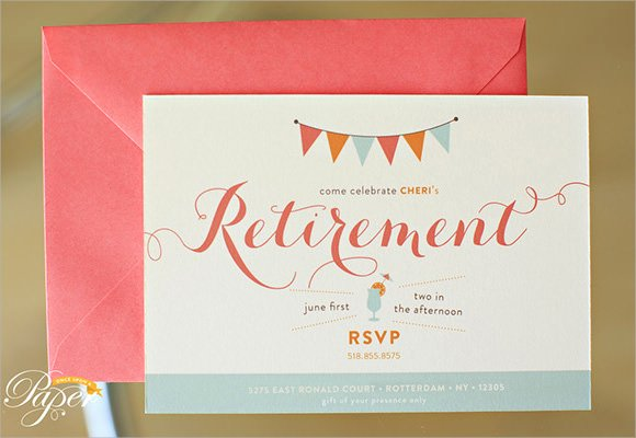 Retirement Party Invites Template Fresh 12 Retirement Party Invitations