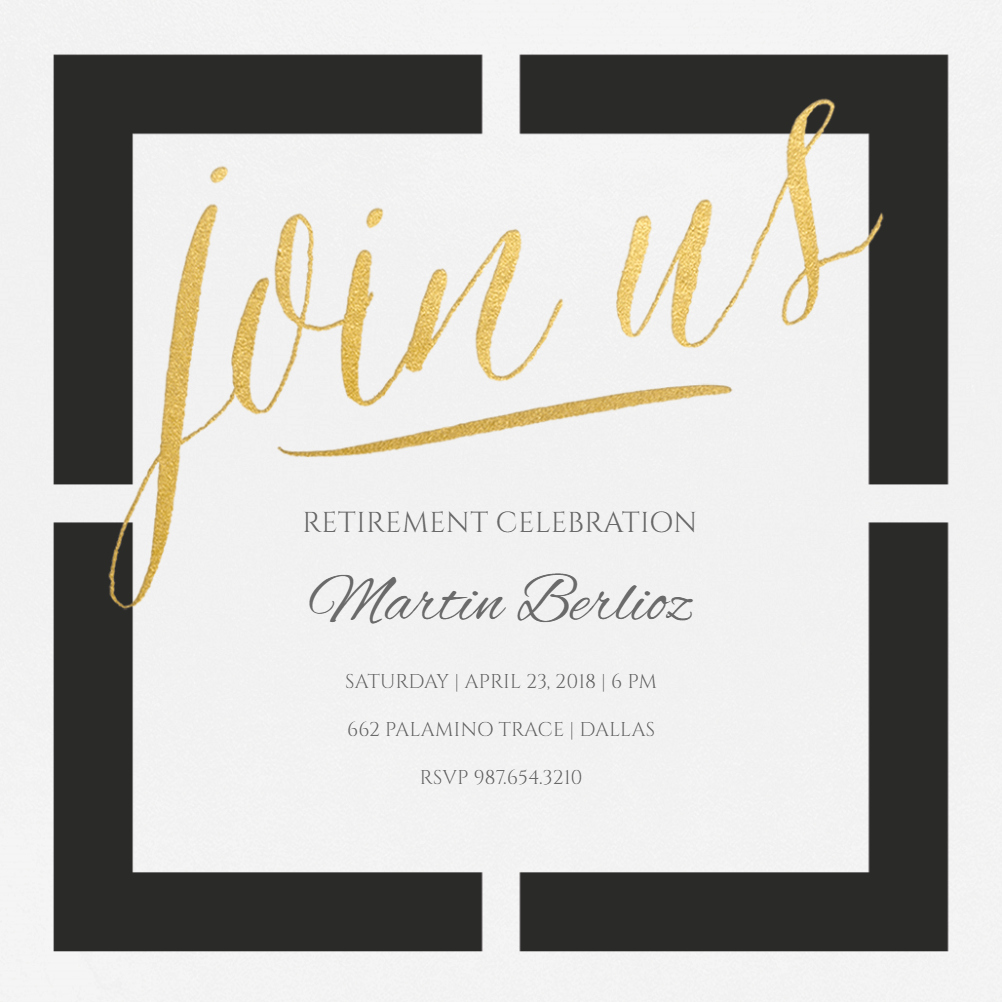 Retirement Party Invites Template Inspirational Window Of Opportunity Free Retirement & Farewell Party