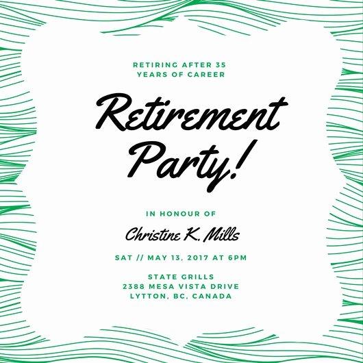 Retirement Party Program Template Unique Customize 3 999 Retirement Party Invitation Templates