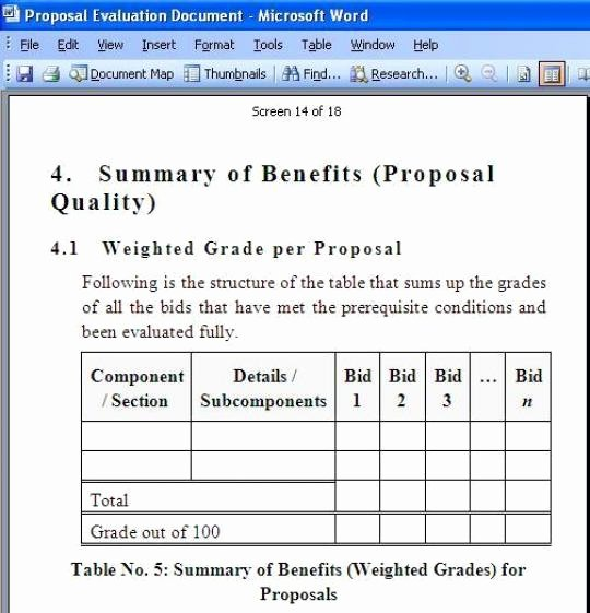Rfp Evaluation Template Excel Luxury Business Proposal format Windows Invoice Template