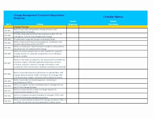 Rfp Evaluation Template Excel New Rfp Template Excel Template Excel 7 Parison Project