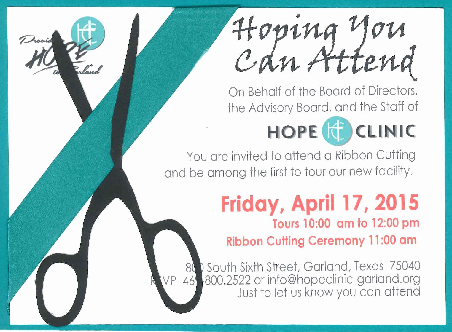 Ribbon Cutting Invite Template Best Of 10 Best Of Clinic Ribbon Cutting Invitation