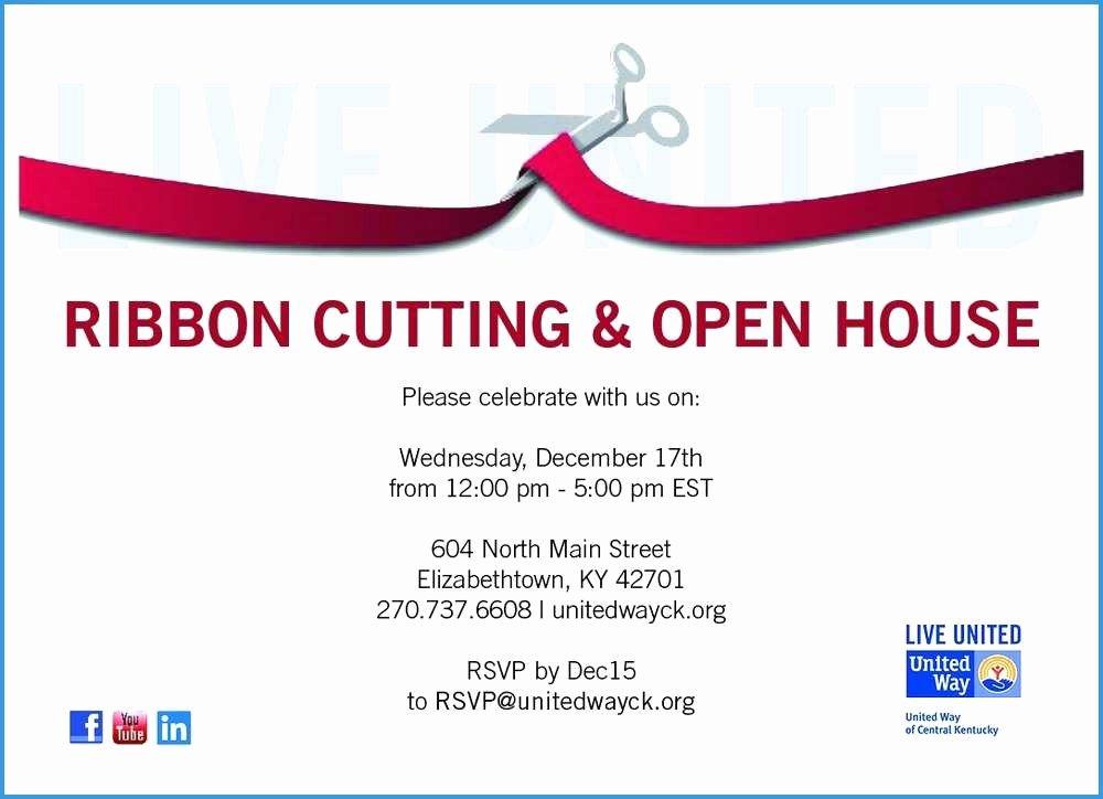 Ribbon Cutting Invite Template Fresh Ribbon Cutting Invitation Templates Ribbon Cutting