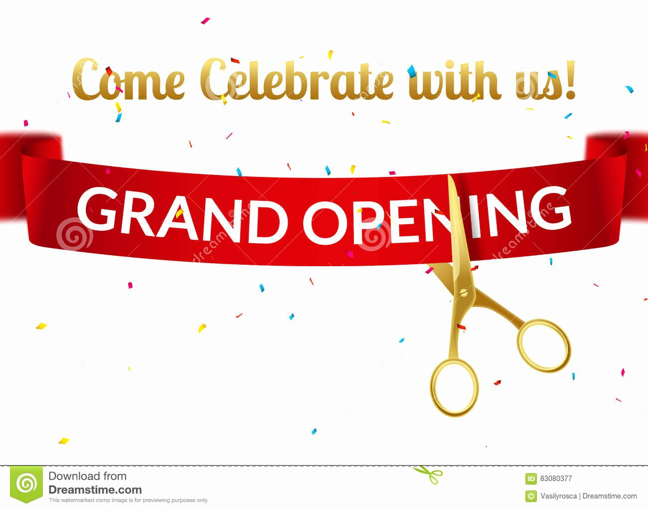Ribbon Cutting Invite Template Inspirational Grand Opening Invitation Template Free Templates Data