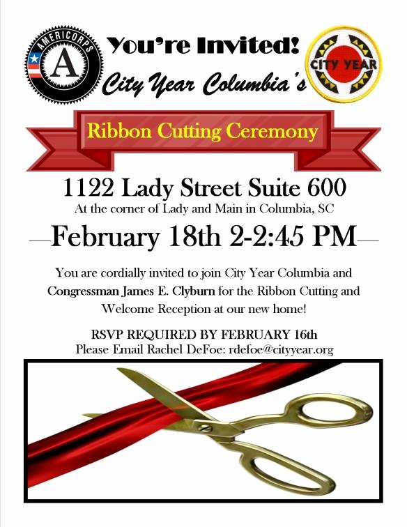 Ribbon Cutting Invite Template Inspirational You Re Invited
