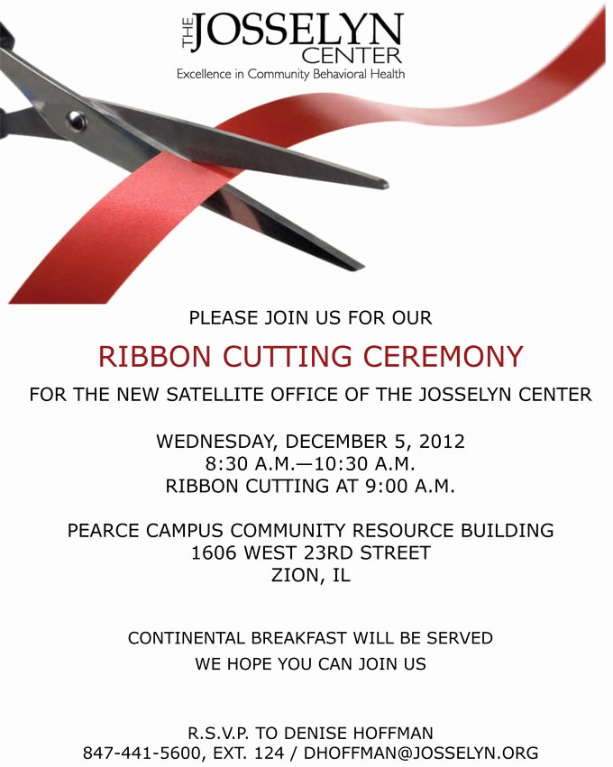 Ribbon Cutting Invite Template Luxury 10 Best Of Ribbon Cutting Invitation Template