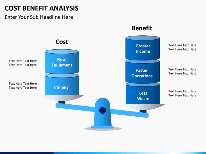 Risk Benefit Analysis Template Luxury Cost Benefit Analysis Powerpoint Template