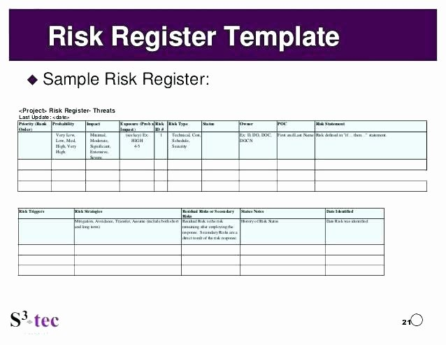 Risk Management Template Excel Fresh 4 Geotechnical Risk Management Roadex Network