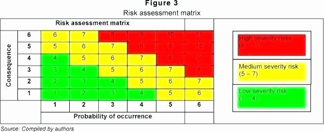 Risk Matrix Template Excel Unique Risk Matrix Template Excel Readleaf Document