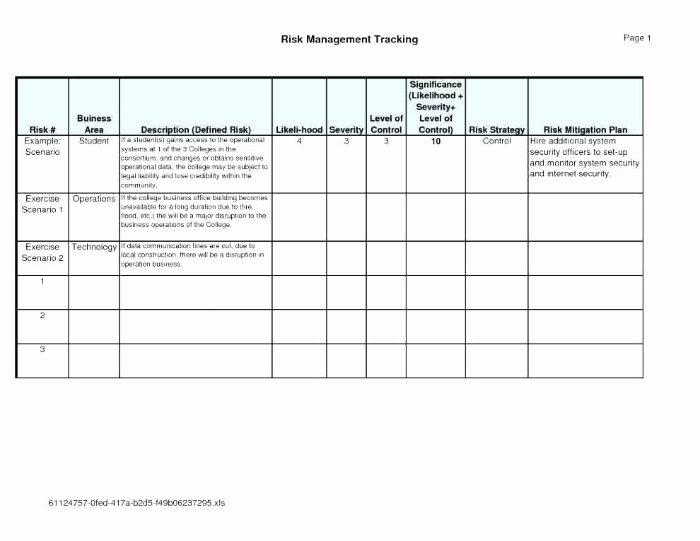 Risk Mitigation Plan Template Lovely Risk and Mitigation Template – Emailers