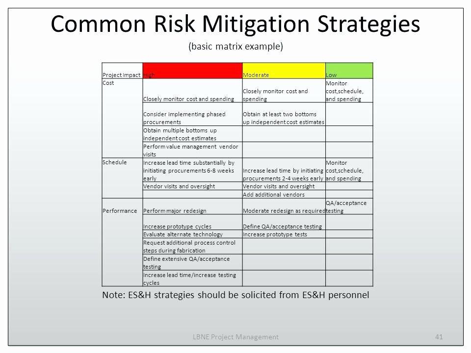 Risk Mitigation Plan Template Unique Project Risk Management Plan Sample Pdf Project Risk