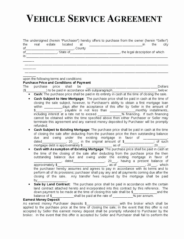 Road Maintenance Agreement Template Awesome Vehicle Maintenance Contract Template – Dalejohnsonfo