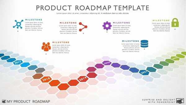 Road Map Powerpoint Template Best Of Six Phase software Timeline Roadmap Powerpoint Template