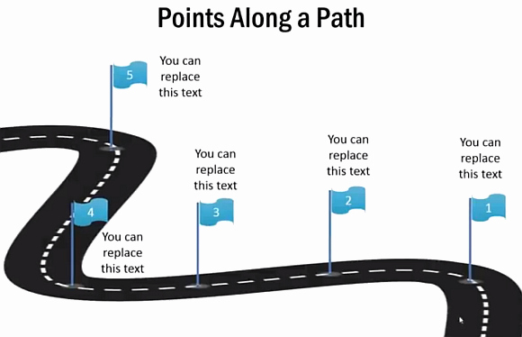 Road Map Powerpoint Template Elegant How to Draw A 3d Roadmap In Powerpoint