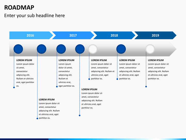 Road Map Powerpoint Template Elegant Roadmap Powerpoint Template