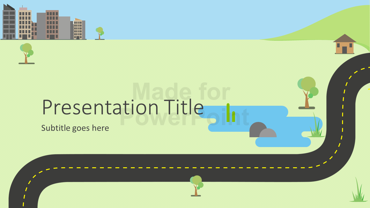 Road Map Powerpoint Template Inspirational Roadmap Infographics Powerpoint Template