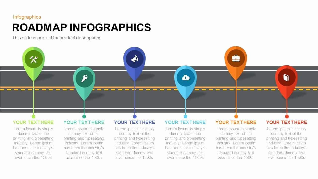Road Map Template Powerpoint Beautiful Roadmap Infographics Powerpoint Template and Keynote Slide