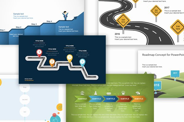 Road Map Template Powerpoint Fresh Free Google Slides themes and Powerpoint Templates for