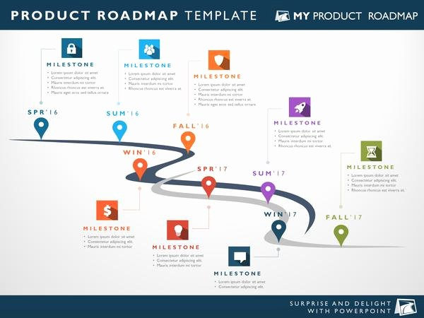 Road Map Template Powerpoint New Eight Phase software Planning Timeline Roadmap Powerpoint