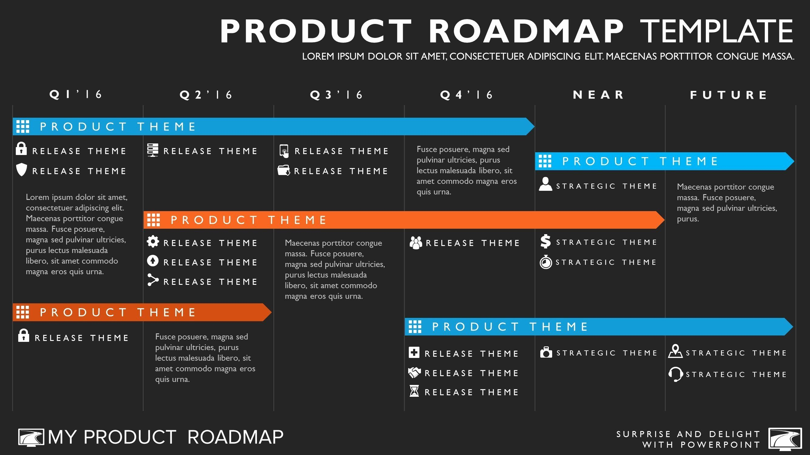 Road Map Template Powerpoint New Six Phase Agile Timeline Roadmap Powerpoint Template