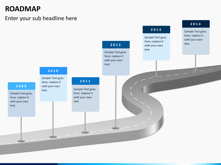 Road Map Template Ppt New Roadmap Powerpoint Template