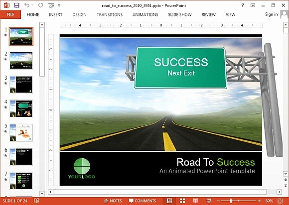 Roadmap Powerpoint Template Free Awesome Interactive Roadmap Powerpoint Templates