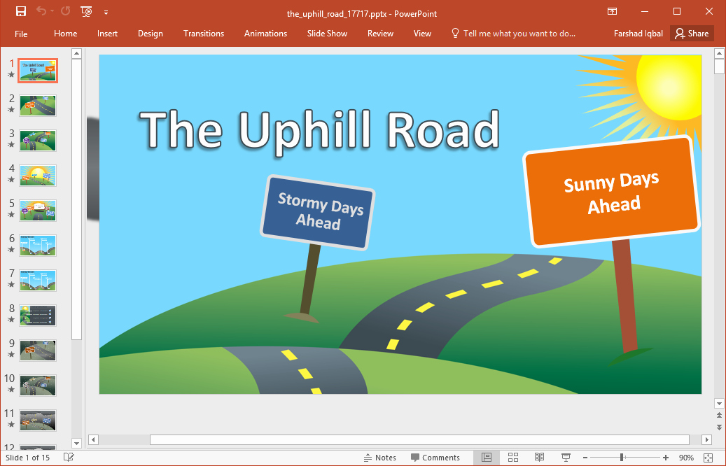 best roadmap templates powerpoint
