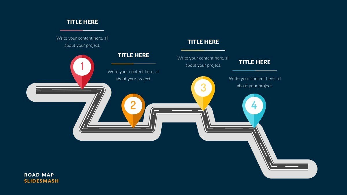 Roadmap Ppt Template Free Inspirational Free Roadmap Powerpoint Slides Ppt Presentation theme
